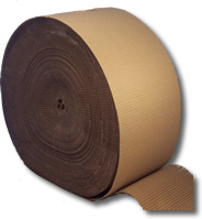 Single Faced Corrugated Paper Rolls - 300mm